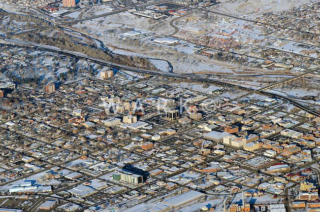 Pueblo, Colorado in winter. Feb 2014