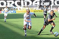 SAO PAULO, SP, 05 MARÇO DE 2012 - CAMP. PAULISTA - SANOTOS X CORINTHIANS -Borges do Santos durante partida entre Santos x Corinthians na Vila Belmiro.. (FOTO: ADRIANO LIMA - BRAZIL PHOTO PRESS)