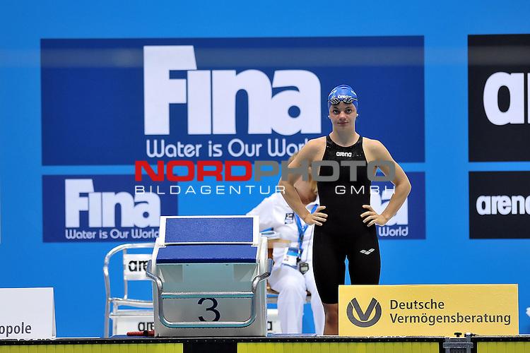 20.10.2012, Schwimm- und Sprunghalle im Europasportpark (SSE), Berlin, GER, FINA World Cup 2012 Berlin im Bild Tina R&uuml;ger/Rueger 800m Freestyle<br /> <br /> Foto &copy; nph / Schulz *** Local Caption ***