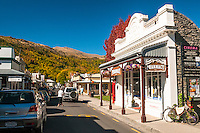 Streets of Arrowtown, Central Otago, New Zealand