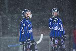 Uppsala 2014-01-12 Bandy  IK Sirius - GAIS Bandy :  <br />  Sirius Ilja Grachev deppar i sn&ouml;v&auml;dret tillsammans med Sirius Victor Lundberg <br /> (Foto: Kenta J&ouml;nsson) Nyckelord:  depp besviken besvikelse sorg ledsen deppig nedst&auml;md uppgiven sad disappointment disappointed dejected