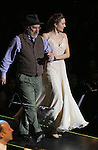 """Mark Linn-Baker and Laura Osnes during the Manhattan Concert Productions 25th Anniversary concert performance of """"Crazy for You"""" at David Geffen Hall, Lincoln Center on February 19, 2017 in New York City."""