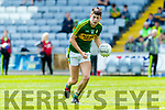 Adam Donoghue Kerry in action against  Louth in the All Ireland Minor Football Quarter Finals at O'Moore Park, Portlaoise on Saturday.