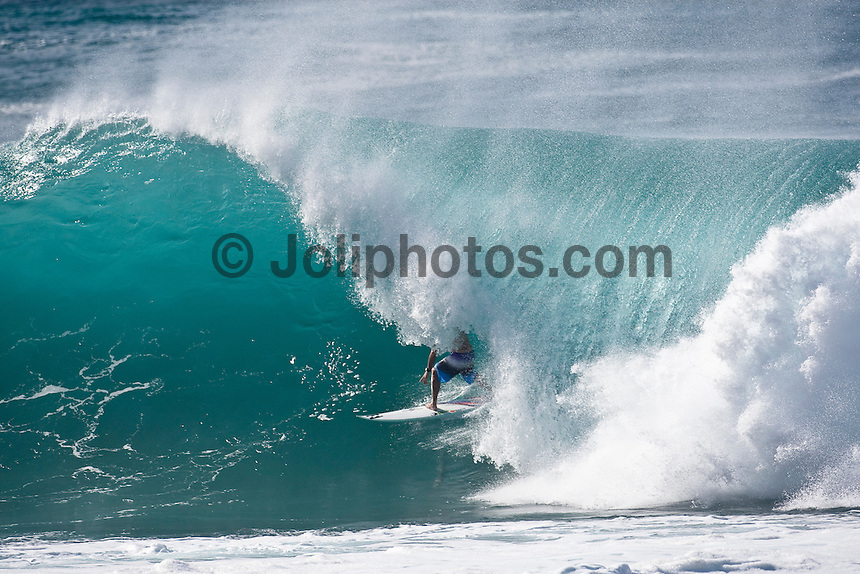 SHANE DORIAN (HAW) surfing at Backdoor Pipeline, North Shore of Oahu, Hawaii. Photo: joliphotos.com
