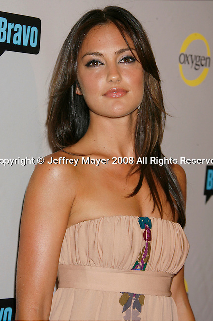 Actress Minka Kelly arrives at the NBC Universal 2008 Press Tour All-Star Party at The Beverly Hilton Hotel on July 20, 2008 in Beverly Hills, California.
