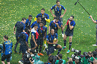Moscow, RUSSIA - Sunday, July 15, 2018: France beat Croatia 4-2 to clinch the 2018 FIFA World Cup title.