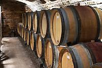 barrel aging cellar domaine guyot marsannay cote de nuits burgundy france