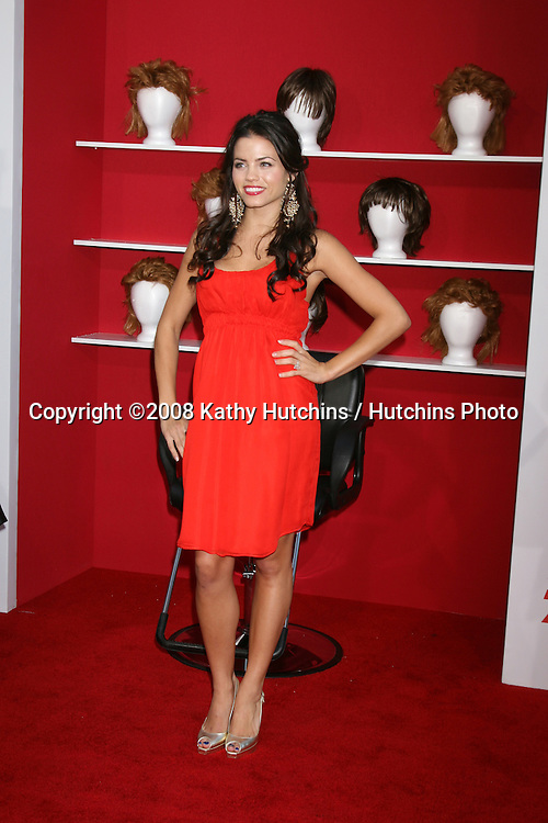 """Jenna Dewan.""""You Don't Mess with Zohan"""" World Premiere.Grauman's Chinese Theater.Los Angeles,  CA.May 28, 2008.©2008 Kathy Hutchins / Hutchins Photo ."""