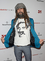HOLLYWOOD, CA - OCTOBER 20: Rob Zombie at the special screening of 31, in Hollywood, California, on October 20, 2016. Credit: David Edwards/MediaPunch