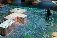 Maquette des projets de Rennes et planification de la premiere couronne sur photosatellite