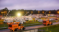 Lake City Processing site preparing for 2019 Hurricane Dorian in Lake City, Fla. on September 1, 2019.