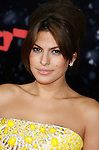 """HOLLYWOOD, CA. - December 17: Actress Eva Mendes arrives at the Los Angeles premiere of """"The Spirit"""" at the Grauman's Chinese Theater on December 17, 2008 in Hollywood, California."""