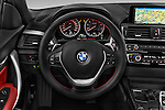 Car pictures of steering wheel view of a 2015 BMW 2-Series 230i 2 Door Convertible Steering Wheel
