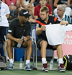 James Blake (USA) Partners with Jack Sock (USA) in Doubles