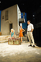 London, UK. 31.05.2016. SUNSET AT THE VILLA THALIA, by Alexei Kaye Campbell, opens at the Dorfman, at the National Theatre. Directed by Simon Godwin. Picture shows: Elizabeth McGovern (June), Pippa Nixon (Charlotte), Ben Miles (Harvey). Photograph © Jane Hobson.