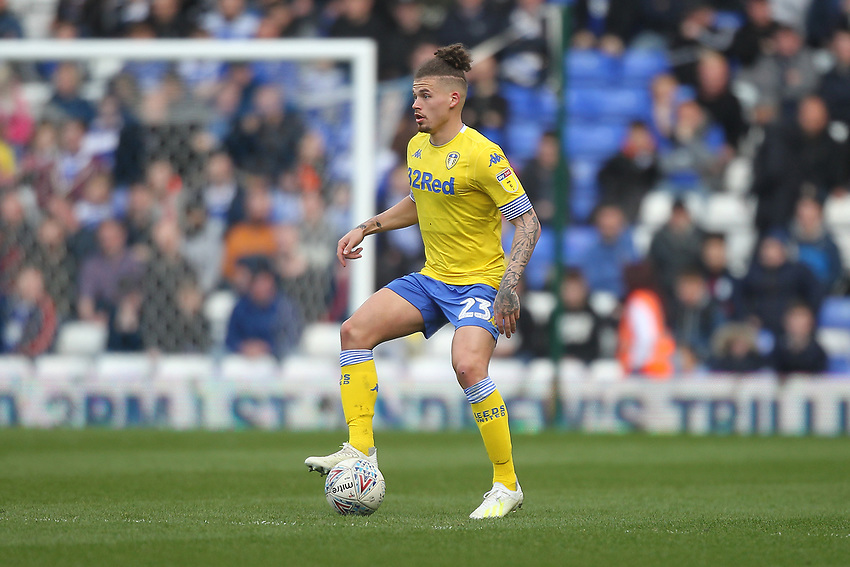Leeds United's Kalvin Phillips<br /> <br /> Photographer Mick Walker/CameraSport<br /> <br /> The EFL Sky Bet Championship - Birmingham City v Leeds United - Saturday 6th April 2019 - St Andrew's - Birmingham<br /> <br /> World Copyright © 2019 CameraSport. All rights reserved. 43 Linden Ave. Countesthorpe. Leicester. England. LE8 5PG - Tel: +44 (0) 116 277 4147 - admin@camerasport.com - www.camerasport.com
