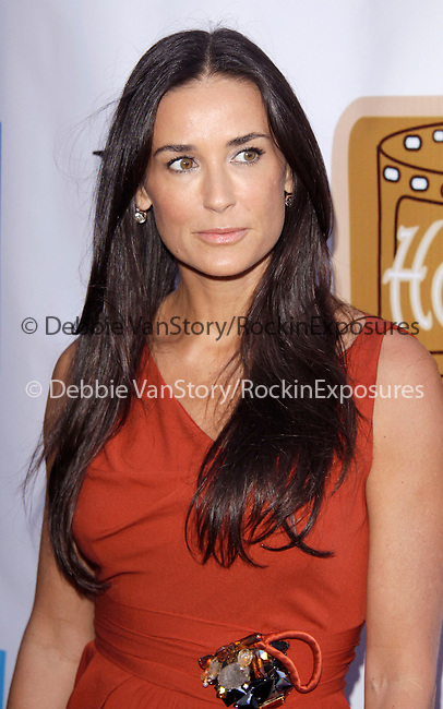 "Demi Moore Kutcher at The 2009 ""HollyShorts"" Film Festival at The Directors Guild Theatre Theatre in West Hollywood, California on August 06,2009                                                                   Copyright 2009 Debbie VanStory / RockinExposures"