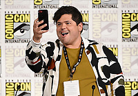 FX FEARLESS FORUM AT SAN DIEGO COMIC-CON© 2019: Cast Member Harvey Guillén during the WHAT WE DO IN THE SHADOWS panel on Saturday, July 20 at SAN DIEGO COMIC-CON© 2019. CR: Frank Micelotta/FX/PictureGroup © 2019 FX Networks