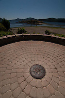 Compass at Eastsound, Orcas Island, San Juan Islands, Washington, US