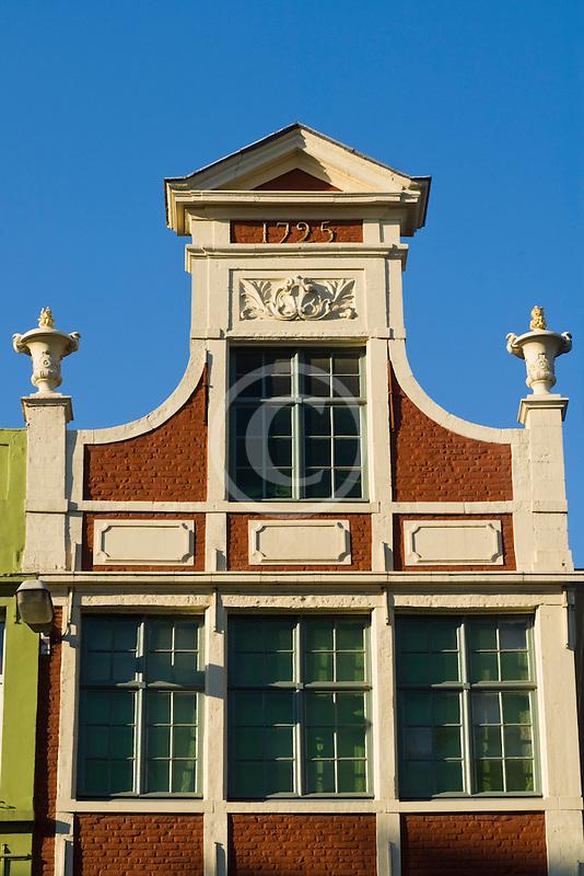 Belgium, Ghent, Gabled roof