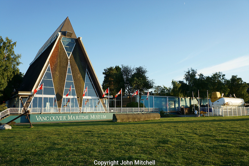 Vancouver Maritime Museum, Vanier Park, Vancouver, British Columbia, Canada