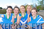 Killorglin rowers who were successful at the Neptune Regatta in Dublin over the weekend l-r: Kelly Moriarty, Niamh McSweeney, Aisling O'Shea, Veronica Kingston and Caoimhe O'Sullivan