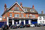 Closed down  hotel, Shoeburyness, near Southend, Essex