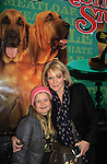 """Maura West - As The World Turns' """"Carly"""" and Young and Restless, poses with her daughter Kate as son Joe makes his Broadway Debut as """"Ralphie"""" in A Christmas Story The Musical on December 19, 2012 at the Lunt-Fontanne Theatre, New York City, New York. (Photo by Sue Coflin/Max Photos)"""