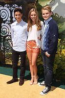 "Teo Halm, Ella Wahlestedt, Reese C. Hartwig<br /> at the ""Legends of Oz: Dorothy's Return"" Los Angeles Premiere, Village Theater, Westwood, CA 05-04-14<br /> David Edwards/Dailyceleb.com 818-249-4998"