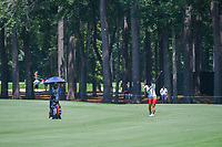 Sei Young Kim (KOR) hits her approach shot on 2 during round 4 of the U.S. Women's Open Championship, Shoal Creek Country Club, at Birmingham, Alabama, USA. 6/3/2018.<br /> Picture: Golffile | Ken Murray<br /> <br /> All photo usage must carry mandatory copyright credit (&copy; Golffile | Ken Murray)