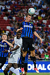 C Internazionale Forward Ivan Perisic (R) heads the ball during the International Champions Cup 2017 match between FC Internazionale and Chelsea FC on July 29, 2017 in Singapore. Photo by Weixiang Lim / Power Sport Images