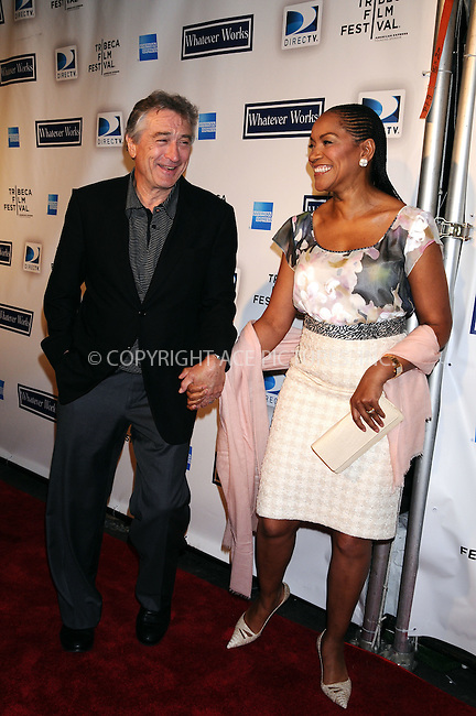 WWW.ACEPIXS.COM . . . . . ....April 22 2009, New York City....Robert De Niro and Grace Hightower arriving at the premiere of 'Whatever Works' during the 2009 Tribeca Film Festival at Ziegfeld on April 22, 2009 in New York City.....Please byline: AJ SOKALNER - ACEPIXS.COM.. . . . . . ..Ace Pictures, Inc:  ..tel: (212) 243 8787 or (646) 769 0430..e-mail: info@acepixs.com..web: http://www.acepixs.com