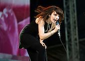 Aug 22, 2015: CHVRCHES - V Festival Day1 - Chelmsford Essex UK