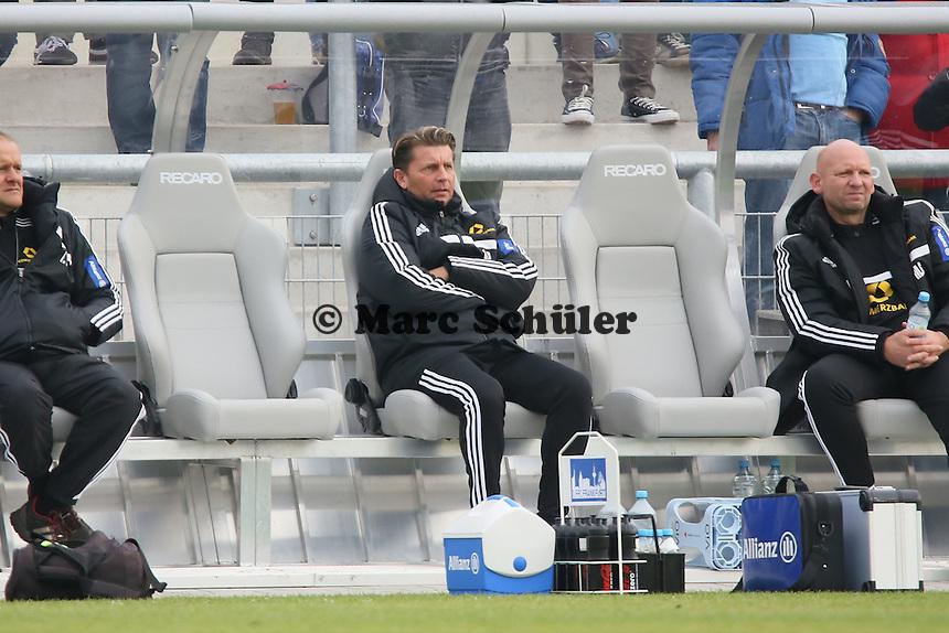 Trainer Colin Bell (FFC) - 1. FFC Frankfurt vs. ASD Torres Femminile, UEFA Champions League Achtelfinal Hinspiel, Stadion am Brentanobad