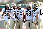 October 8, 2009: Robert Castelao (#82),Michael O'Crowley (#53),\PJ65\,Joey Augello (#58)