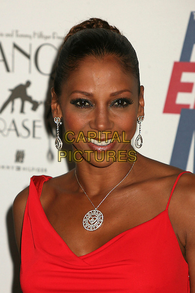 "HOLLY ROBINSON PEETE.14th Annual Race to Erase MS Themed ""Dance to Erase MS"" at the Century Plaza Hotel, Century City, California, USA, 13 April 2007..portrait headshot red dress.CAP/ADM/BP.©Byron Purvis/AdMedia/Capital Pictures."