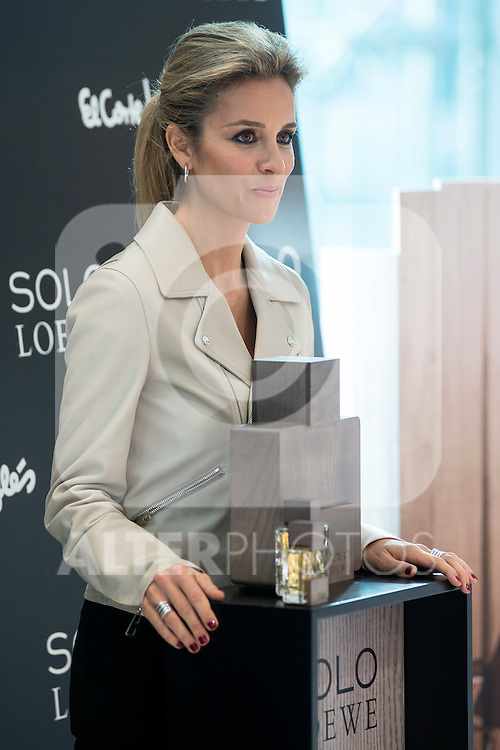 Alejandra Silva during the presentation of the new perfume SOLO LOEWE Cedro at El Corte Ingles Castellana in Madrid, October 06, 2015.<br /> (ALTERPHOTOS/BorjaB.Hojas)