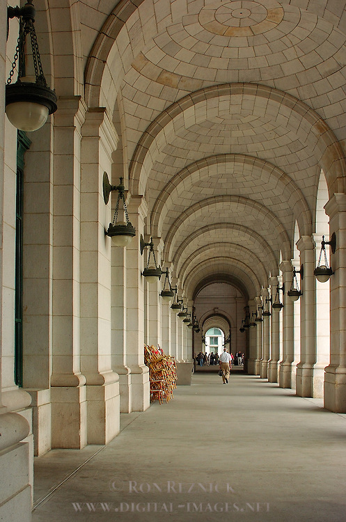 Vaulted Loggia, Union Station, Washington DC