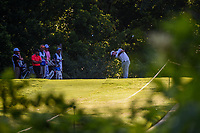 Nick Taylor (CAN) hits his tee shot on 8 during round 2 of the Fort Worth Invitational, The Colonial, at Fort Worth, Texas, USA. 5/25/2018.<br /> Picture: Golffile | Ken Murray<br /> <br /> All photo usage must carry mandatory copyright credit (&copy; Golffile | Ken Murray)
