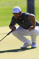 Alexander Levy (FRA) on the 10th green during Thursday's Round 1 of the 2018 Turkish Airlines Open hosted by Regnum Carya Golf &amp; Spa Resort, Antalya, Turkey. 1st November 2018.<br /> Picture: Eoin Clarke | Golffile<br /> <br /> <br /> All photos usage must carry mandatory copyright credit (&copy; Golffile | Eoin Clarke)