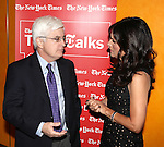 William J. Carter & Julia Louis-Dreyfus.attends TimeTalks Presents A Conversation with Julia Louis-Dreyfus and interviewer William J. Carter at The Times Center on April 13, 2012 in New York City.