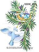 Randy, CHRISTMAS SYMBOLS, WEIHNACHTEN SYMBOLE, NAVIDAD SÍMBOLOS, paintings+++++Wintering-Birds-Checking-In-silhouette,USRW209,#xx#