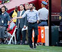 Landover, MD - June 7, 2014: D.C. United tied the Columbus Crew 1-1 at FedEx Field.