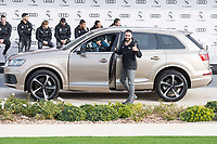 Daniel Carvajal of Real Madrid CF poses for a photograph after being presented with a new Audi car as part of an ongoing sponsorship deal with Real Madrid at their Ciudad Deportivo training grounds in Madrid, Spain. November 23, 2017. (ALTERPHOTOS/Borja B.Hojas) /NortePhoto.com NORTEPHOTOMEXICO