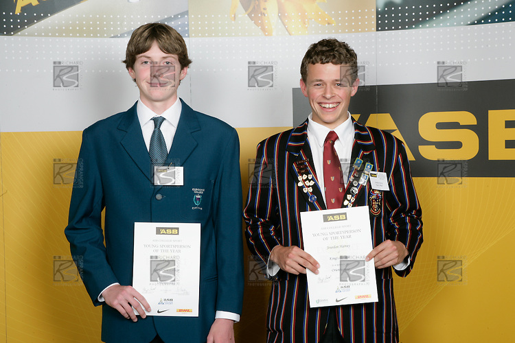 Boys Orienteering finalists Toby Scott & Jourdan Harvey. ASB College Sport Young Sportperson of the Year Awards 2007 held at Eden Park on November 15th, 2007.