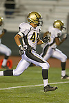 Torrance, CA 10/06/11 - Jin Matsumoto (Peninsula #40) in action during the Peninsula vs South Varsity football game.