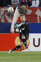 29.03.2012 MADRID, UEFA Europa League Quarter Finals match played between At. Madrid vs Hannover 96 (2-1) at Vicente Calderon stadium. the picture show Ron-Robert Zieler (Goalkeeper of Hannover 96)