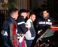 NAPOLI ARRESTO DI GIOVANNI MARINO UNO DEI PRESUNTI KILLER DI PASQUALE ROMANO VITTIMA INNOCENTE DELLA FAIDA DI SCAMPIA