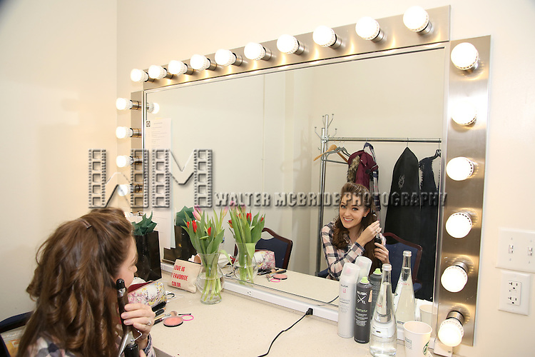 Laura Osnes backstage at  The American Pops Orchestra '75 Years of Streisand'  at the George Washington University Lisner Auditorium on January 13, 2017 in New York City.