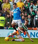 11.3.2018 Rangers v Celtic:<br /> Jamie Murphy and Kristoffer Ajer